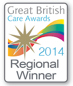 Great British Care Home Awards winner 2014