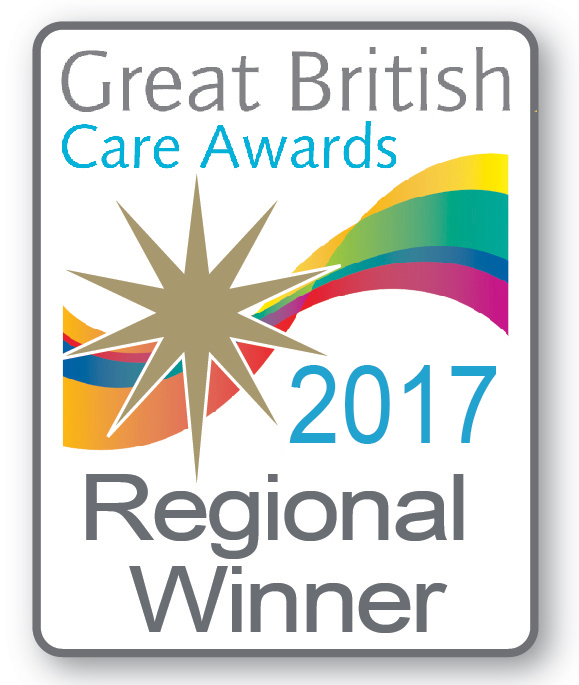 Great British Care Home Awards winner 2017