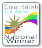 Great British Care Home Awards winner